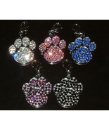 SWAROVSKI CRYSTAL PAW IN 5 COLOR CHOICES - $22.95