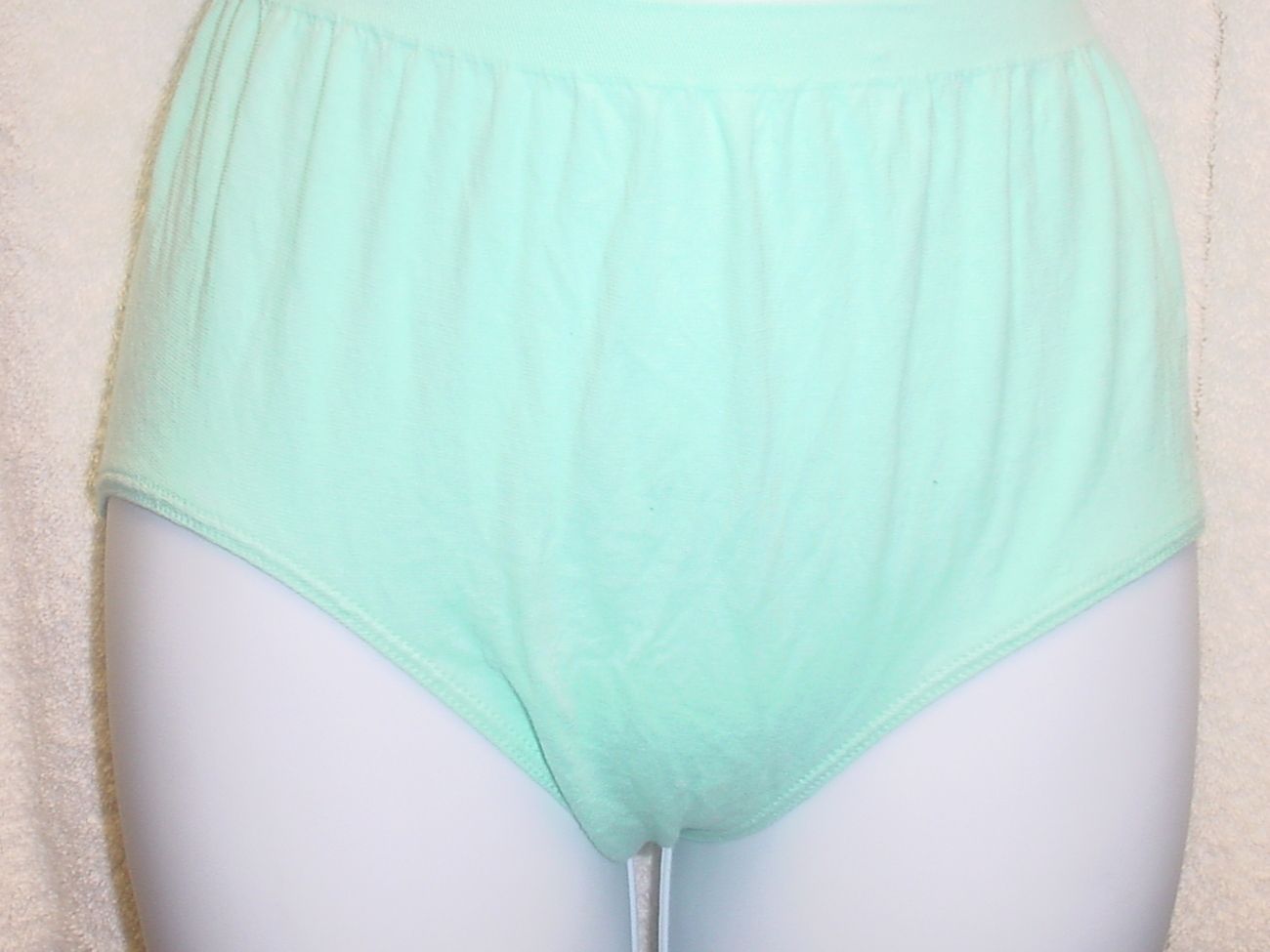 Jockey Seamfree Panty 7/Large Light Green SP-Slightly Imperfect Lot of 3 NWOT