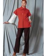 V1526 Vogue Sewing Patterns Misses' Collar Jacket, Drop-Shoulder Shirt, ... - $21.77