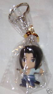 NARUTO ANIME MANGA KEYCHAIN KEY CHAIN SASUKE NEW #1