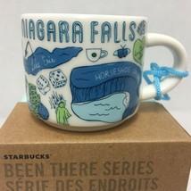 Starbucks Been There Niagara Falls Ornament Mini Mug 2 OZ - $32.71