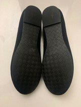 New Cole Haan Women's Black Felt Slip-On Loafers 9.5 B Gold Tassels Shoes image 2
