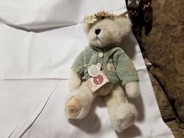 Boyds Bears Plush Tooth Toof Fairy Plush Retired Gen Yoo Wine with Sweater - $9.89