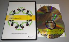 Microsoft Expression Web 1 Professional Design Tools FULL RETAIL - $34.64
