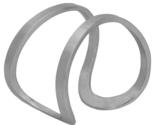 "Classic Karine Sultan ""Elise"" Minimalist Split Cuff Silver Cutout Bracelet - €55,00 EUR"