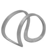 "Classic Karine Sultan ""Elise"" Minimalist Split Cuff Silver Cutout Bracelet - $69.90"