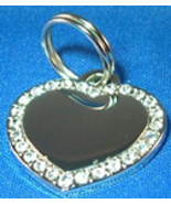LARGE CRYSTAL HEART - 2 SIDED - $20.95