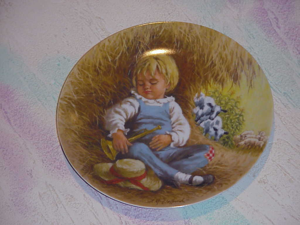 Mother Goose by John McClelland   Set of 4   collector plates  1