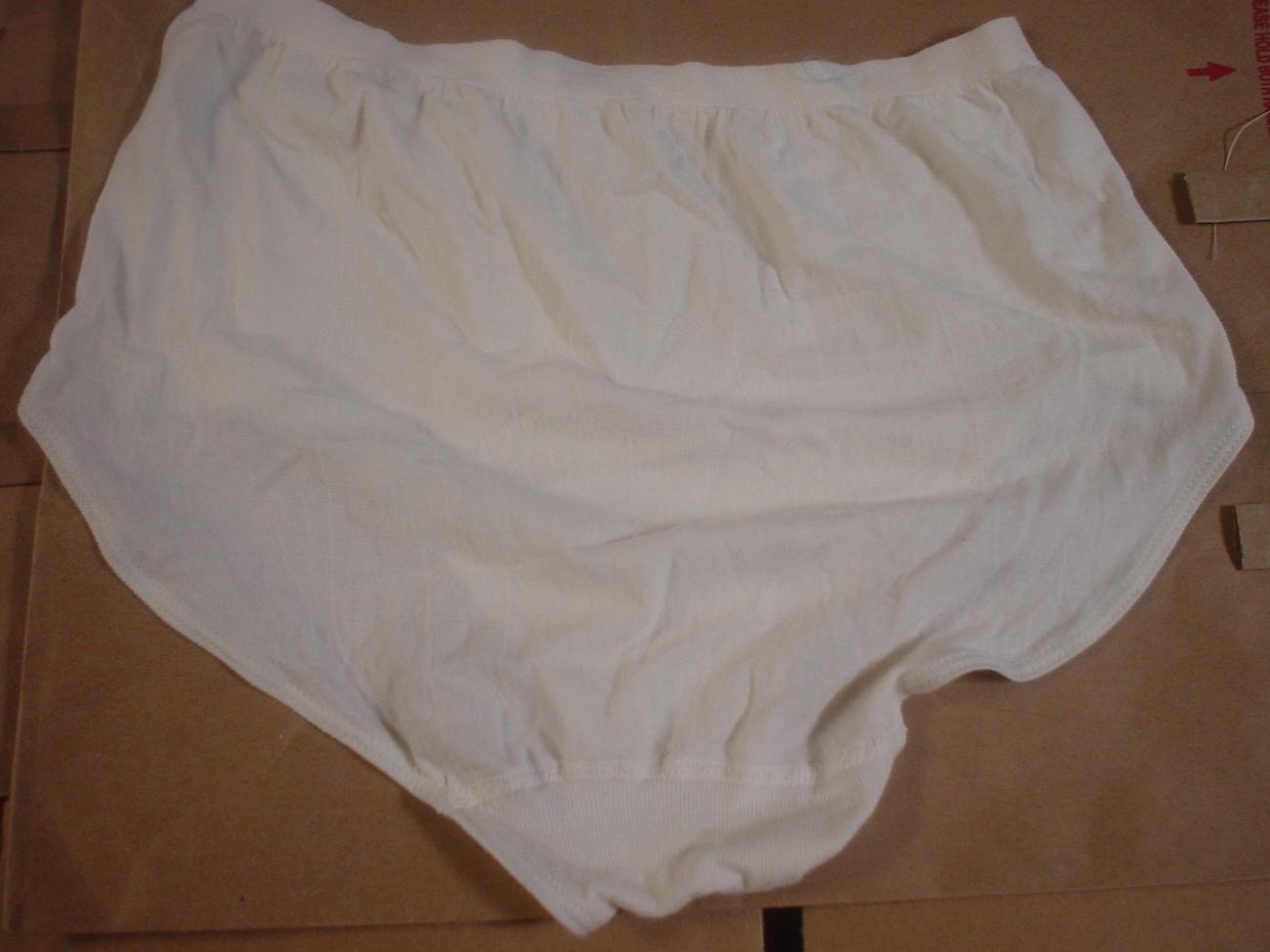 Jockey Seamfree Panty 7/Lrg or 8/XLrg Ivory SP-Slightly Imperfect Lot of 2 NWOT