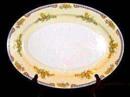 Meita China Large Serving Platter~ Japan Hand Painted AA19-1525 Vintage image 5