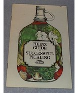 Vintage Heinz Guide to Successful Pickling 1975 Pickles,  - $4.00