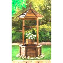 Rustic Wishing Well Planter - $192.74