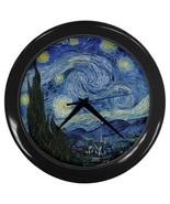 Starry Starry Night Vincent Van Gogh Art Wall Clock - $22.49
