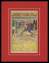 Spider-Man 1979 Marvel Comics Framed 11x14 ORIGINAL Vintage Advertisement - $41.71