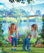 Kids Relaxing Hammock W/ Bag Chair Sturdy One S... - $21.75