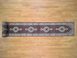 "2'7""x27'1"" Wool and Silk 250 Kpsi Tabrez Mahi HandKnotted XL Runner Rug ... - $1,433.50"