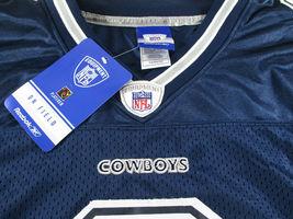 TONY ROMO / AUTOGRAPHED DALLAS COWBOYS BLUE REEBOK NFL FOOTBALL JERSEY / STEINER image 5
