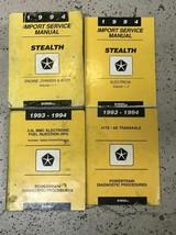 1994 Dodge Stealth Service Réparation Atelier Manuel Set Avec Diagnostics - $118.74