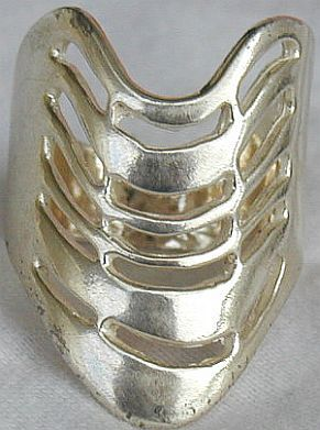 Shmil silver ring