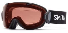 SMITH SAMPLE WOMEN'S I/OS ASIAN FIT SKI SNOWBOARD GOGGLE BLACK/POLAR ROS... - $199.99