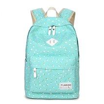 Kids Book Bag Casual Lightweight Canvas School Backpacks for Teen Girls - €26,52 EUR