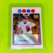 MLB KEVIN HART CHICAGO CUBS 2008 TOPPS CHROME AUTOGRAPHED ROOKIE #224 MNT - $1.99