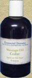 Cedarmassage oil