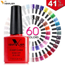 Nail Art Design Manicure Venalisa 60Color 7.5Ml Soak Off - $5.46