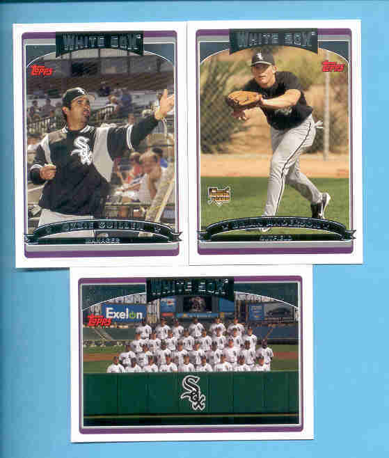 2006 Topps Chicago White Sox Baseball Team Set