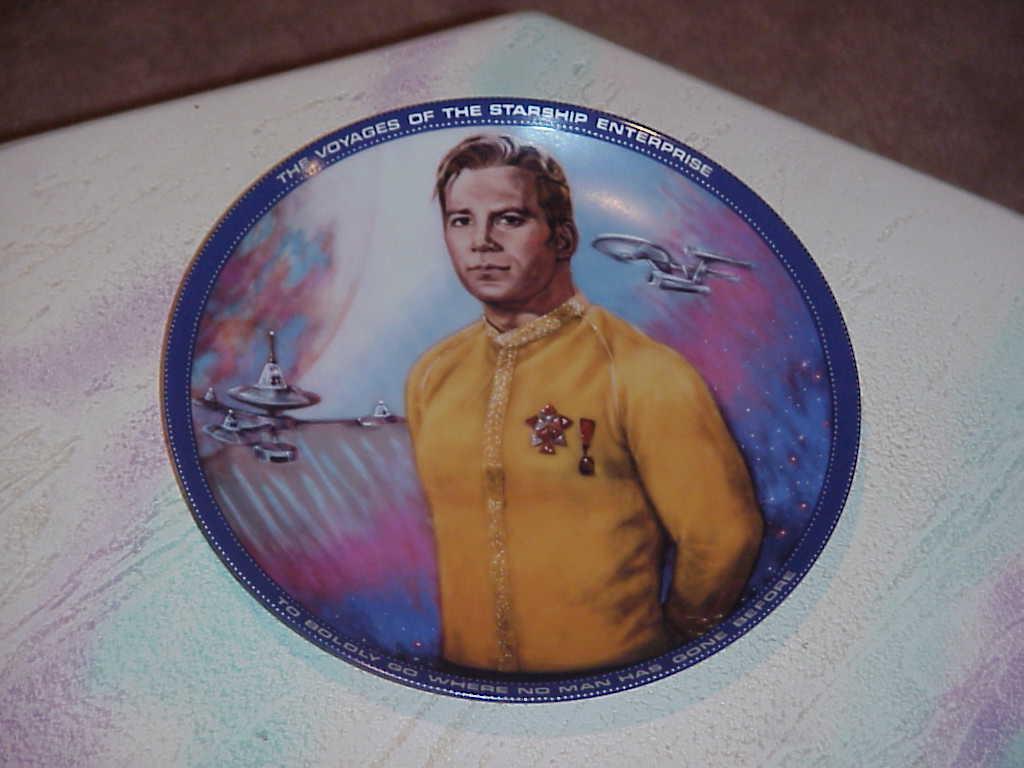 Star Trek    Complete Set  9 Plates  1984  Susie Morton