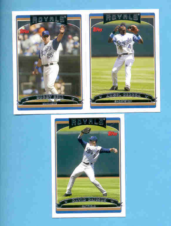 2006 Topps Kansas City Royals Baseball Team Set
