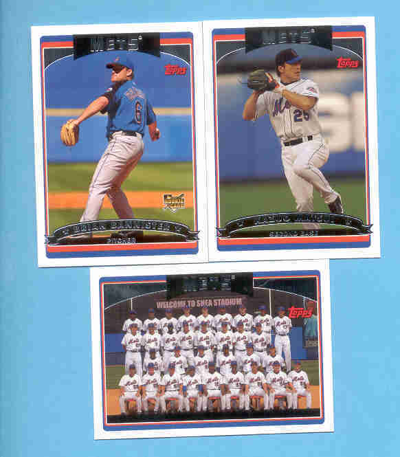 2006 Topps New York Mets Baseball Team Set