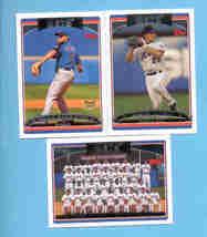 2006 Topps New York Mets Baseball Team Set  - $3.00