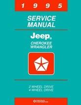 1995 JEEP Cherokee 2WD 4WD Shop Service Manual,... - $25.95