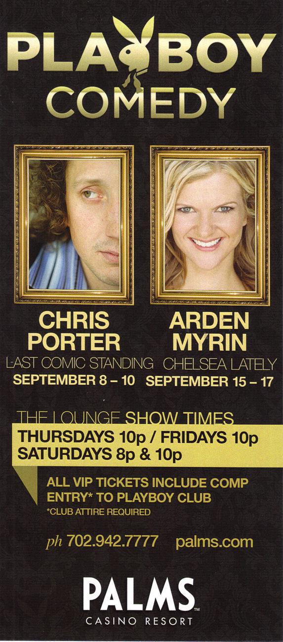Playboy comedy chris porter