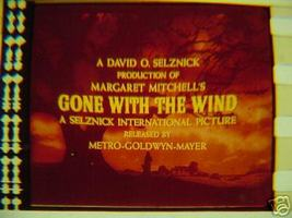 Gone With The Wind rare film cell transparency GWTW - $10.00