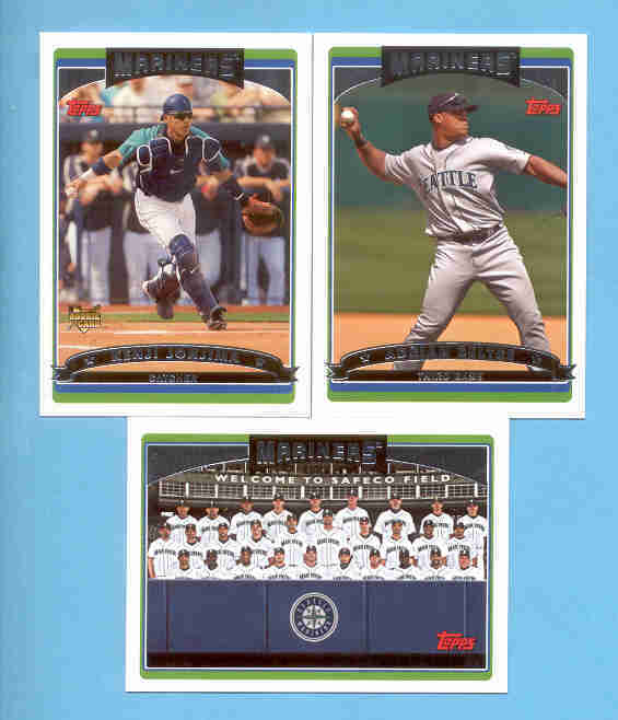 2006 Topps Seattle Mariners Baseball Team Set