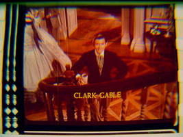 Gone With The Wind rare film cell transparency Clark Gable - $5.00
