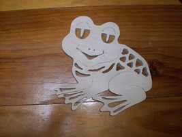 Wooden frog display - $15.00