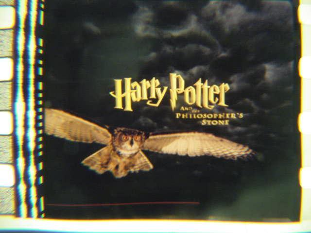 Harry Potter original 35mm mounted film cell transparency 5