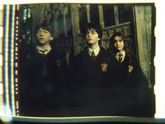 Harry Potter original 35mm mounted film cell transparency 8