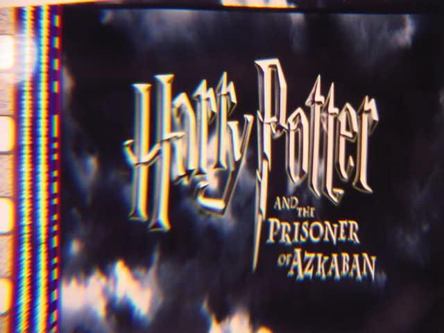Harry Potter original 35mm mounted film cell transparency 9