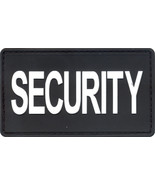 Security PVC Waterproof Hook Patch - Black & White - $6.99