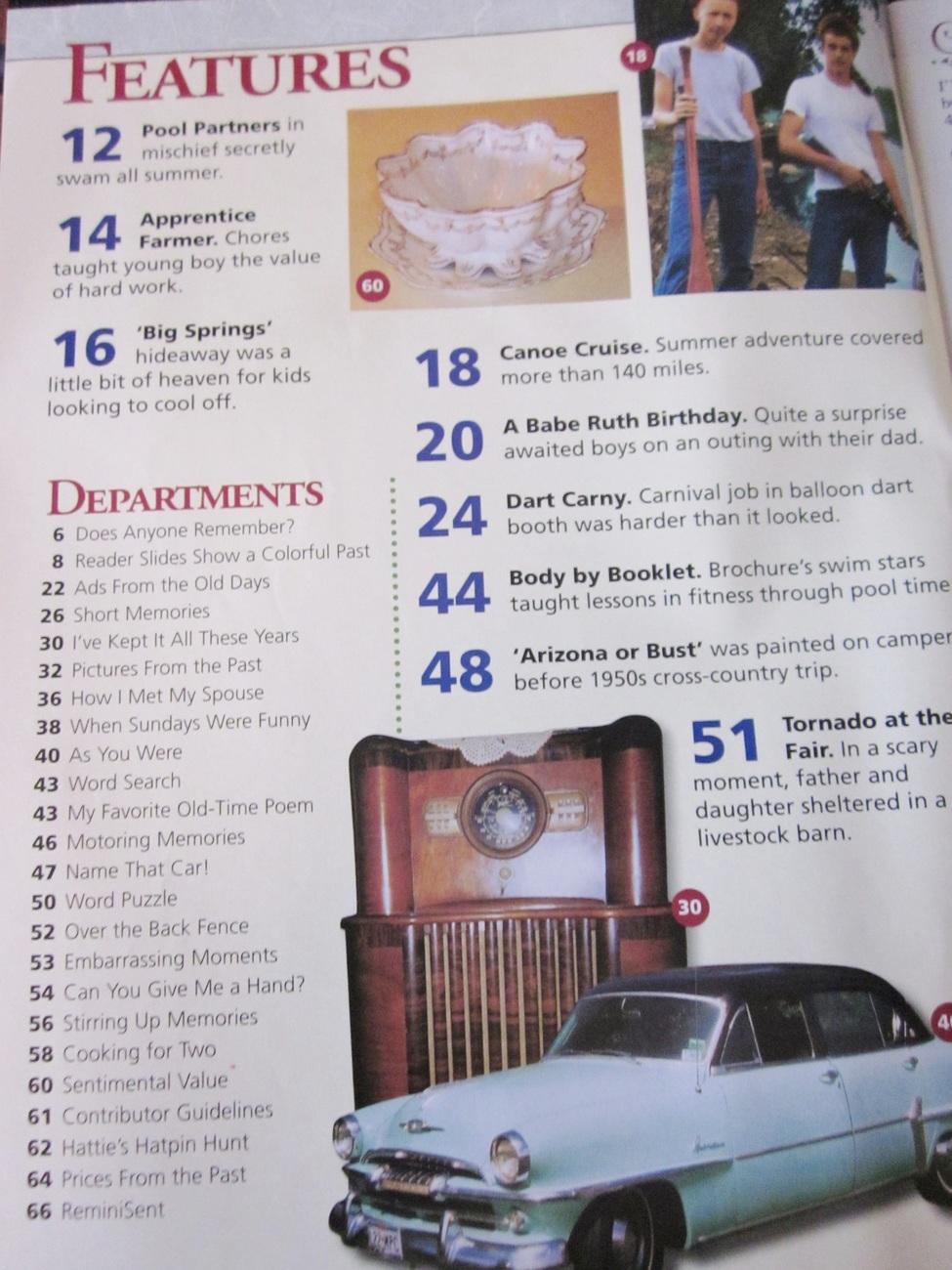 Reminisce Extra Magazine Back Issue July 2010