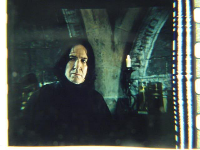 Harry Potter original 35mm film cell Slide Snape 1