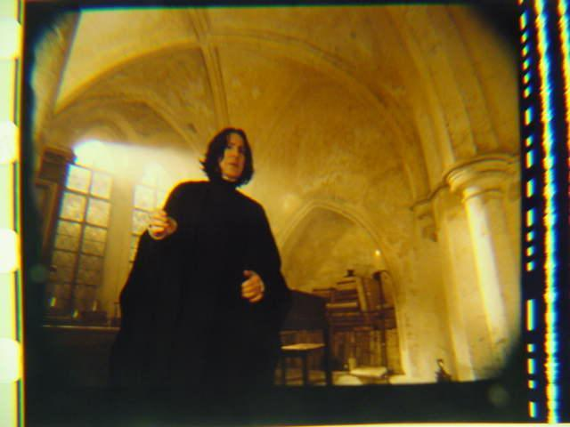 Harry Potter original 35mm film cell Slide Snape 4