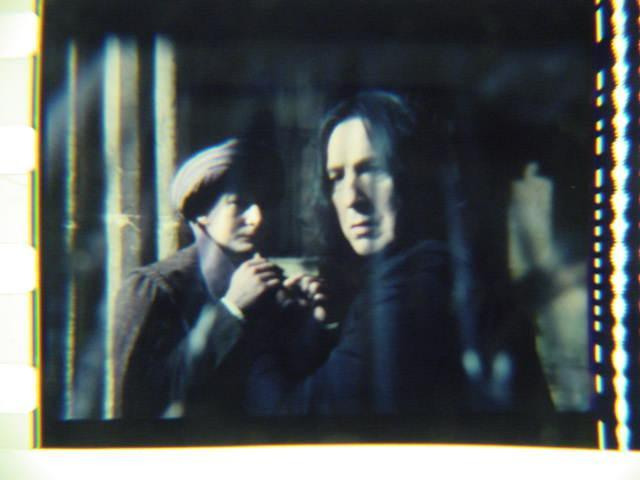 Harry Potter original 35mm film cell slide Snape 3