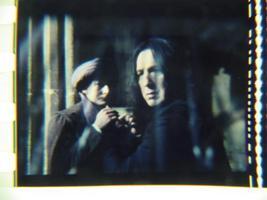 Harry Potter original 35mm film cell slide Snape 3 - $4.00