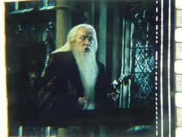 Harry Potter original 35mm film cell Slide Dumbledore  - $5.00