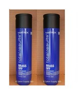 Matrix Total Results Brass Off Color Obsessed Shampoo 10.1 oz (Pack of 2) - $29.69
